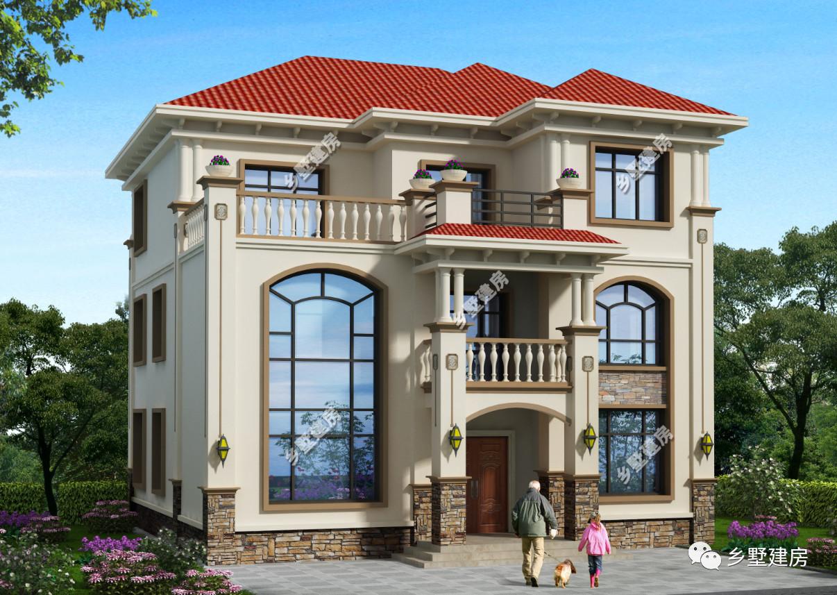 711平方米 结构类型:框架结构 建筑层数:4层 这款别墅外观就是欧式图片