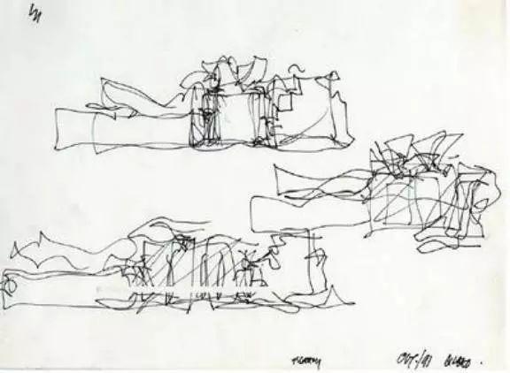 毕尔巴鄂古根海姆博物馆设计概念图图片