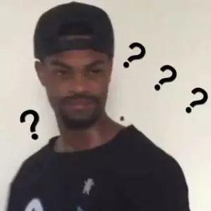 黑人问号脸的表情图片