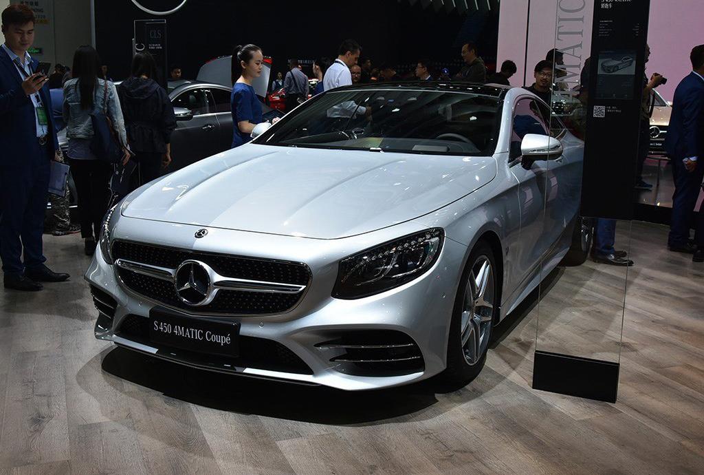 新款奔驰S级轿跑车上市 售价124.38万元