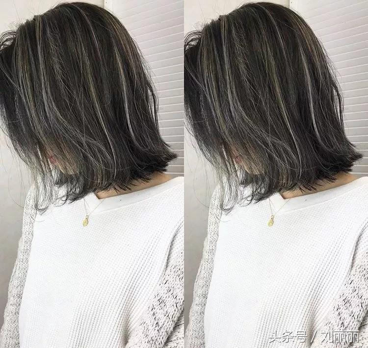 多白头发 染发可以让人看起来时尚,挑染就是让头发不再是单一的颜色