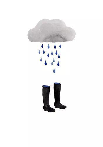 感谢暴风雨,给了我夏天穿长靴的理由