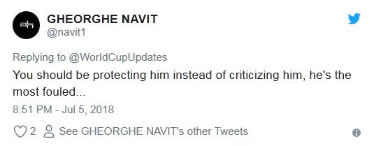 内马尔世界杯14分钟倒地翻滚遭网友吐槽:他需要婴儿学步椅的照片 - 12