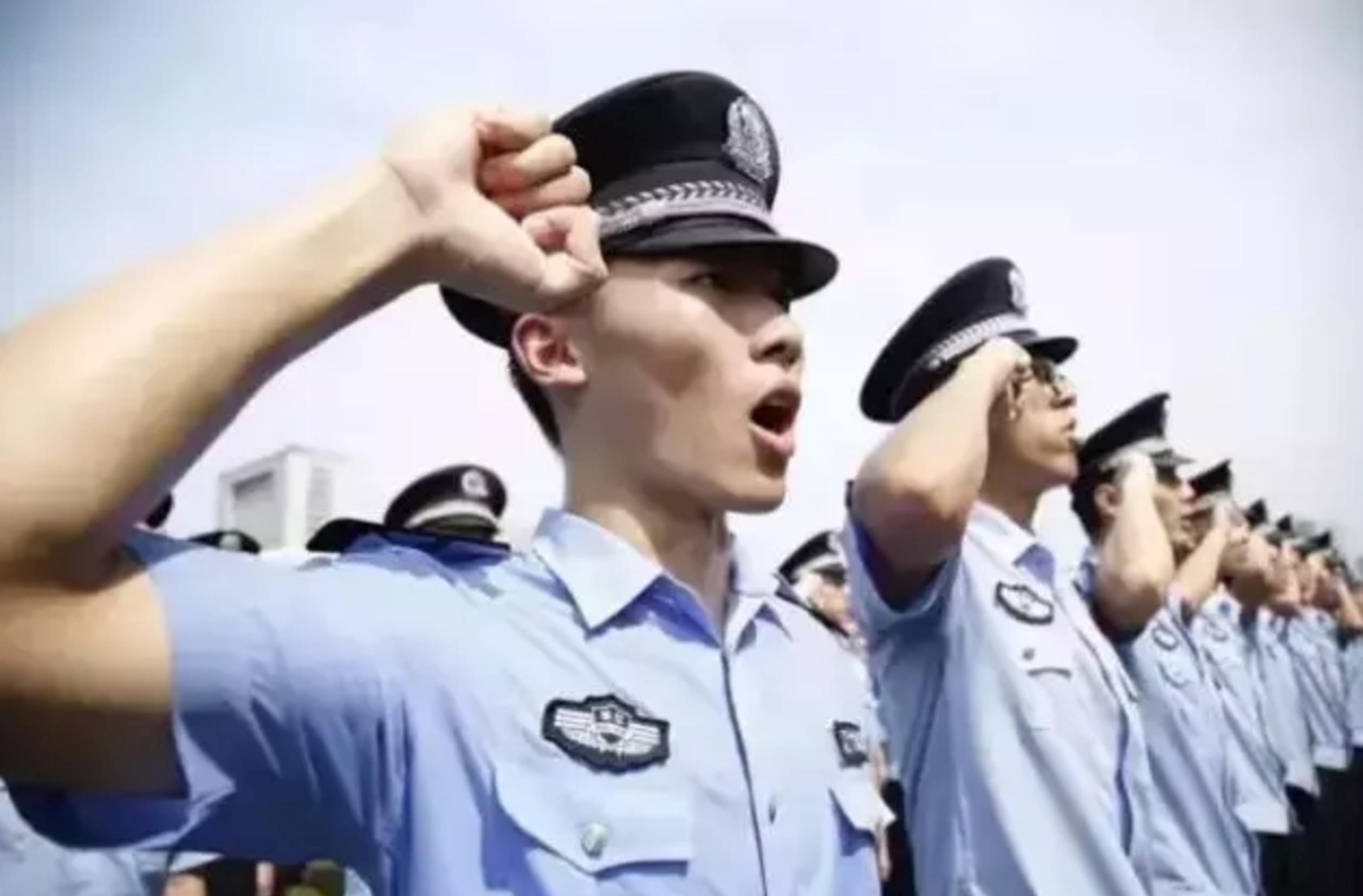 警察桌面壁纸 警察桌面壁纸画法