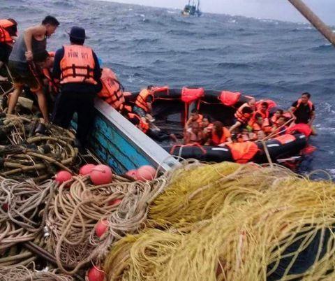 泰国翻船事件:41名中国公民在事故中遇难