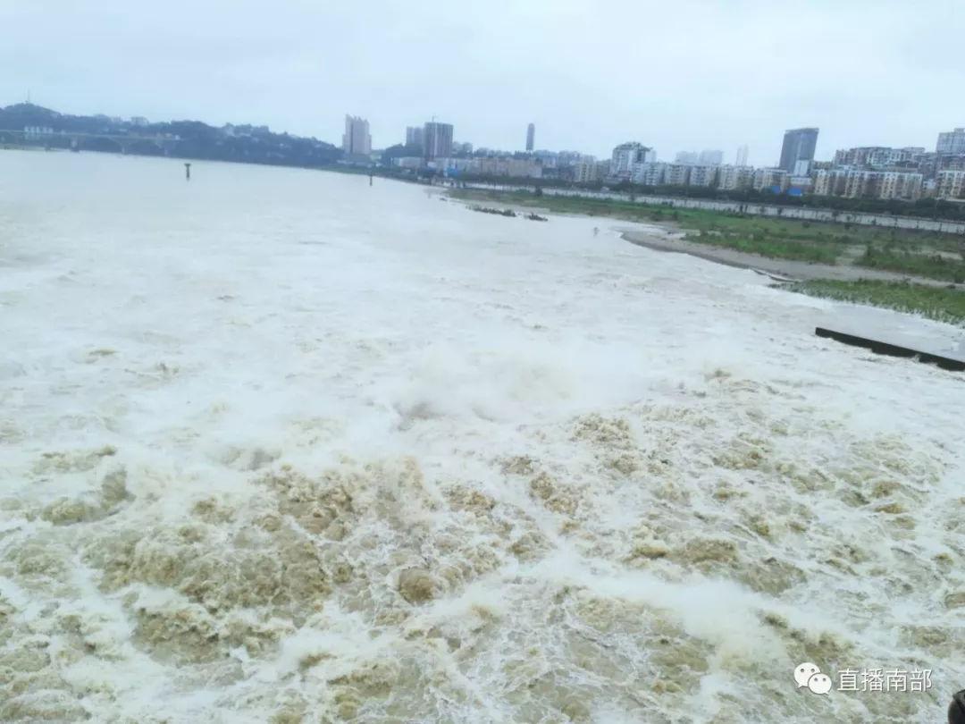 梦见大河涨水两河交汇