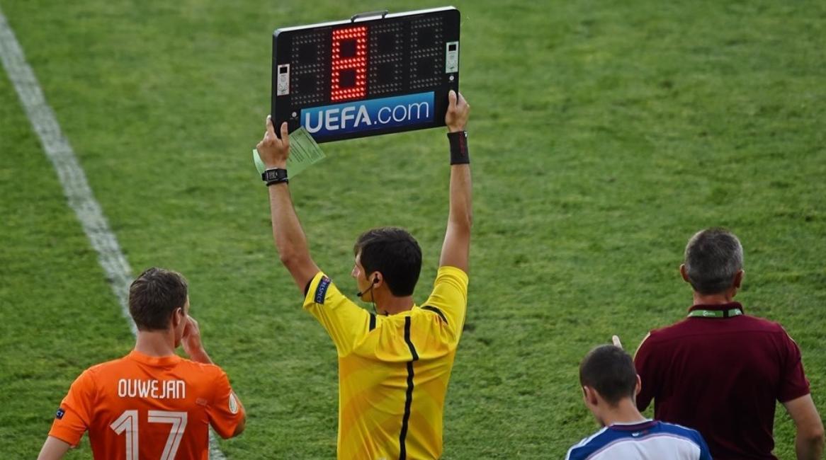 欧足联宣布欧战加时可多换一人本赛季开始施行
