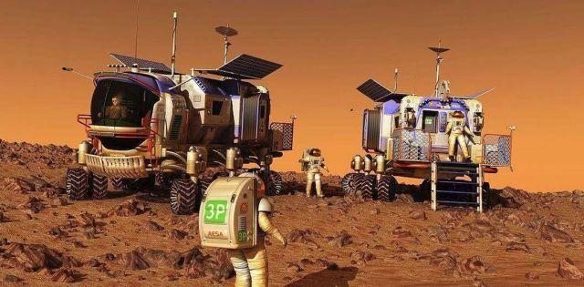 一颗人类必须要去的星球 火星