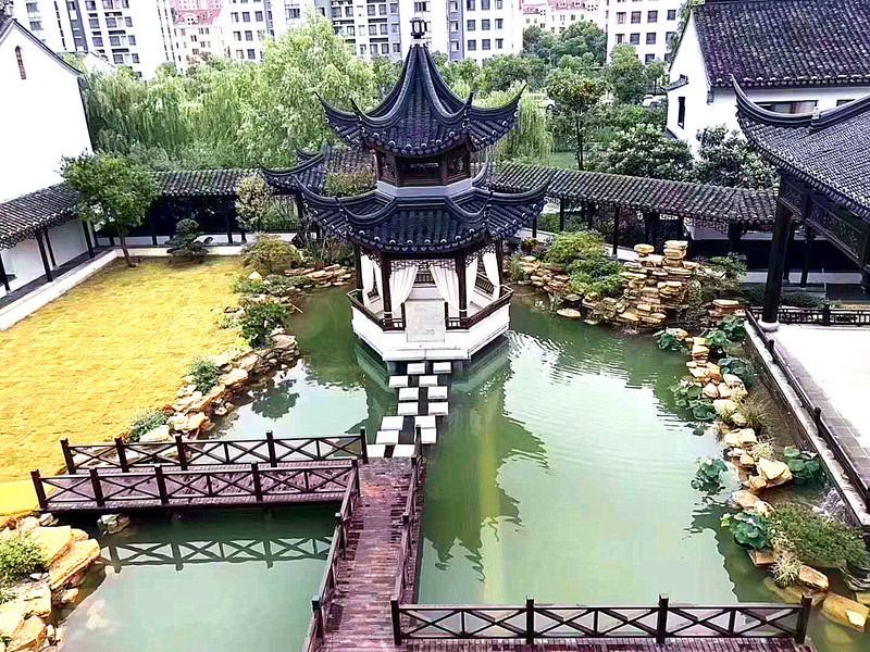可以居住的苏式园林酒店——雅致·湖沁阁图片