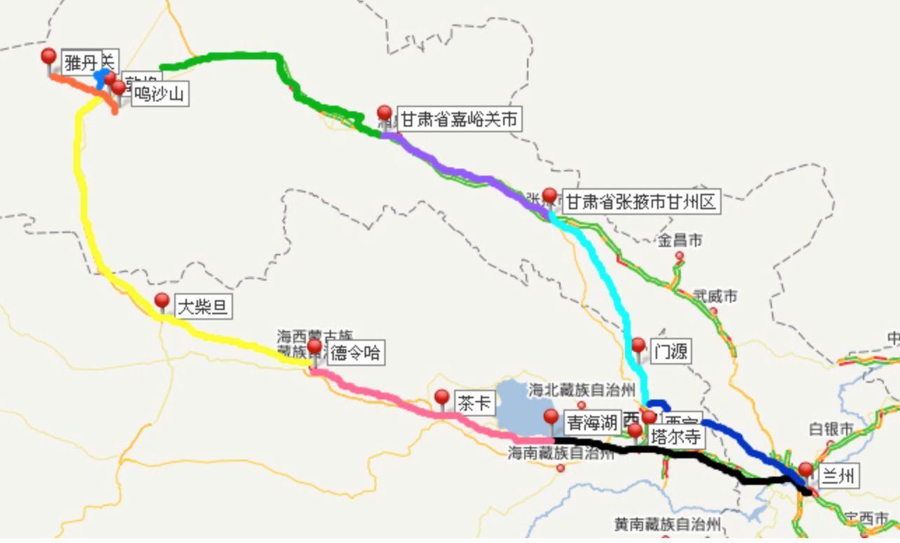 (2015年·山西卷)新丝绸之路的北线大体为:中国西北部... _满分网