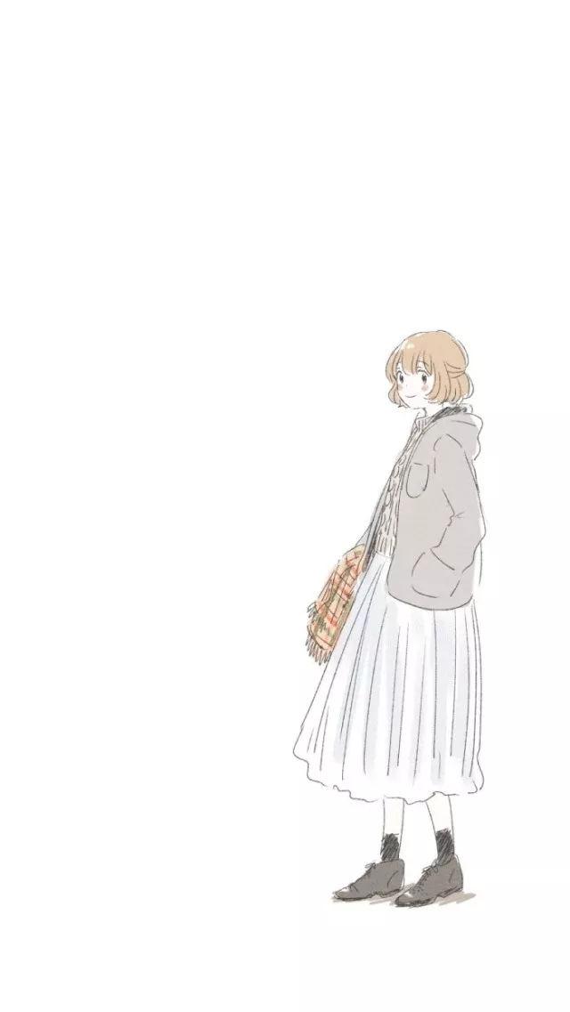 日系小清新文艺插图