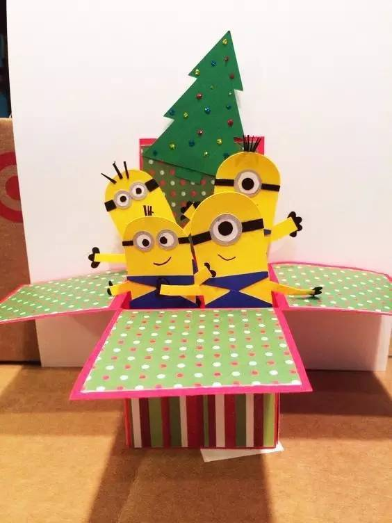 盒子给孩子们的惊喜图片