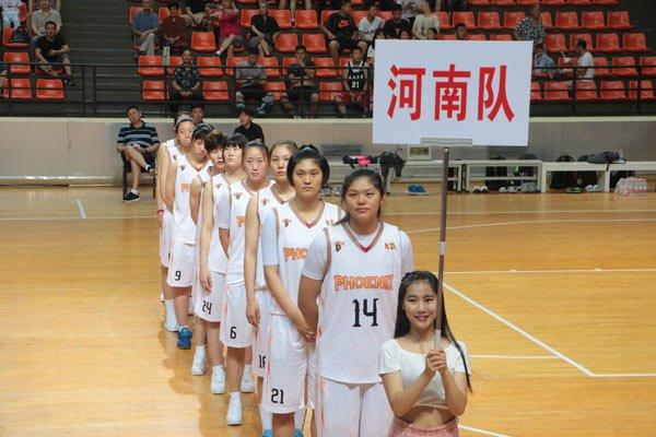 全国U21青年篮球锦标赛伊川农商银行青年女篮首战告捷