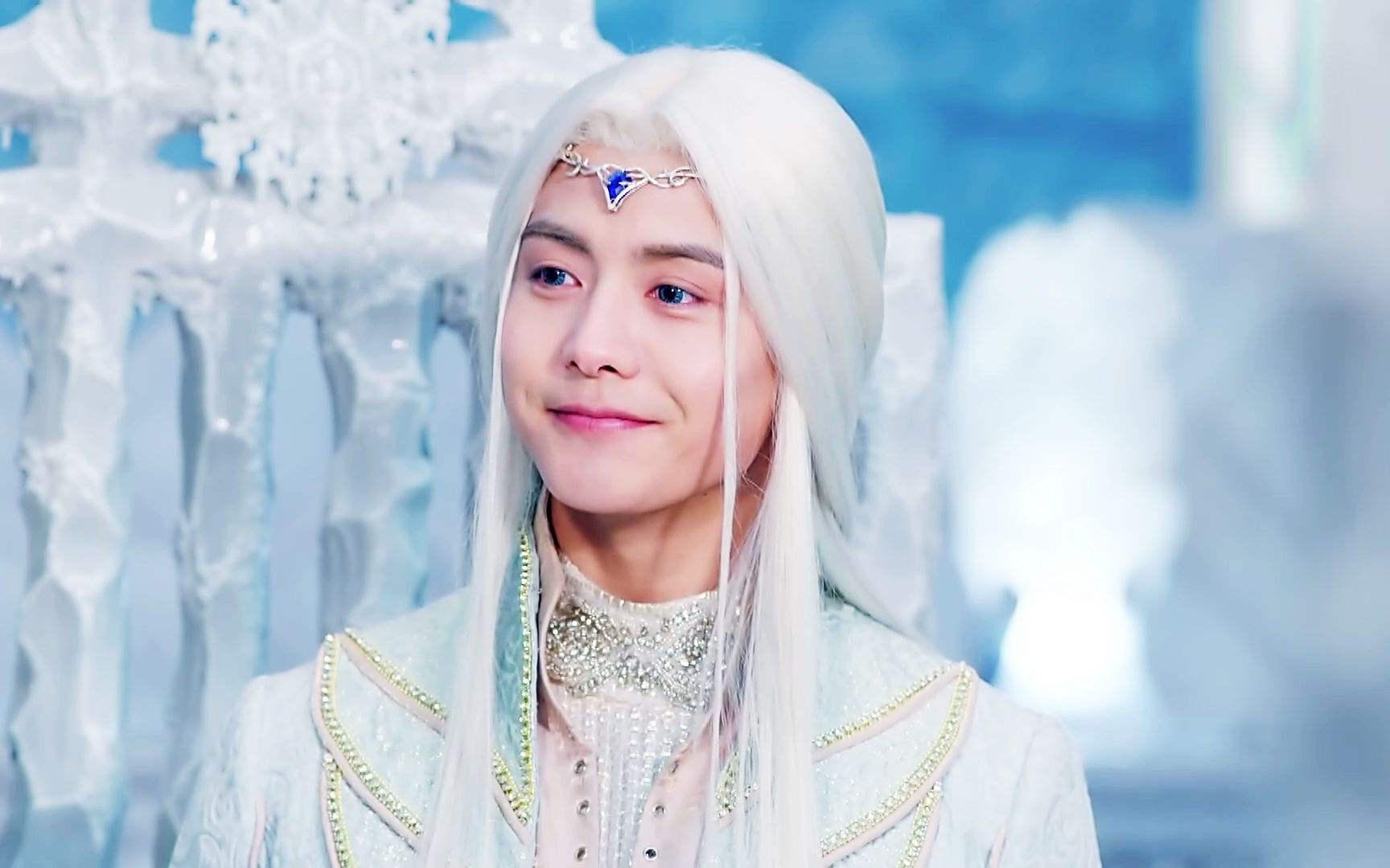 5个古装白发造型的男明星,邓超,马天宇上榜,最帅气的