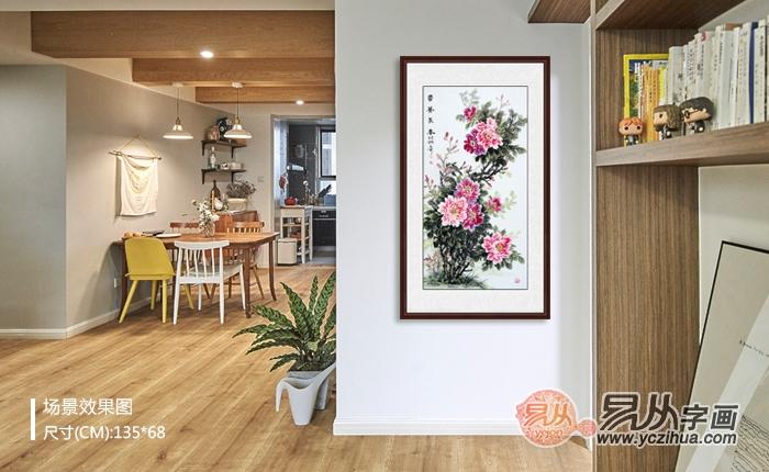 家中挂什么画合适 选择花鸟画就对了