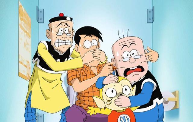 小时候我们追个不停的漫画阿衰只能排第二第一已改编成动画!