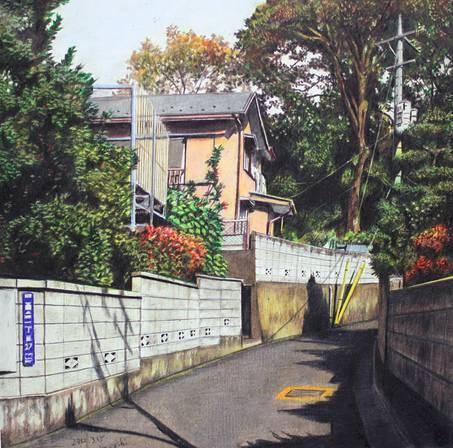 日本艺术家——林亮太的彩铅风景,比照片还细腻!