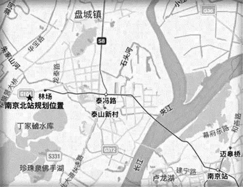 荆北新区未来规划图