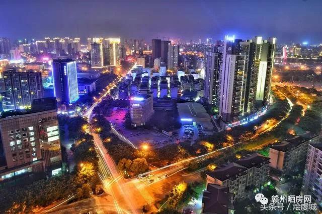 你是否想过在高楼大厦上面俯视着赣州会是什么样子?
