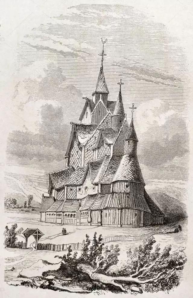 惊奇!维京人的木板教堂,简直一部跨越千年的北欧史书!