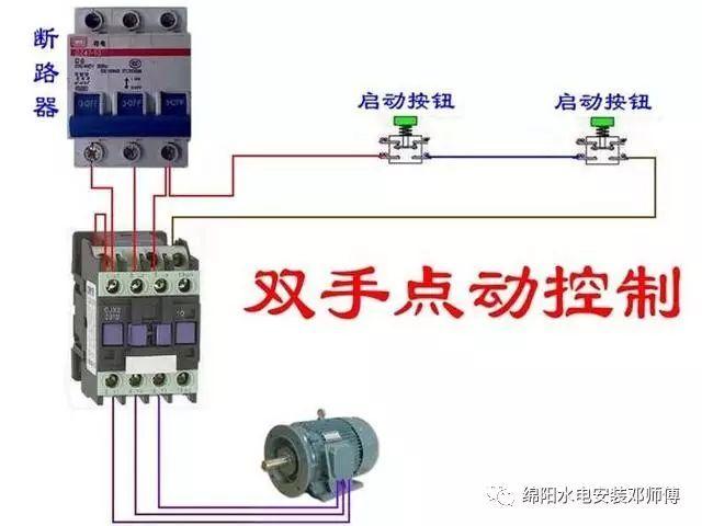 电工师傅总结的电动机控制接线电路图