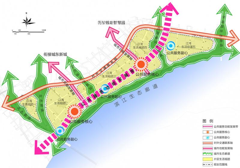 钱江新城规划图