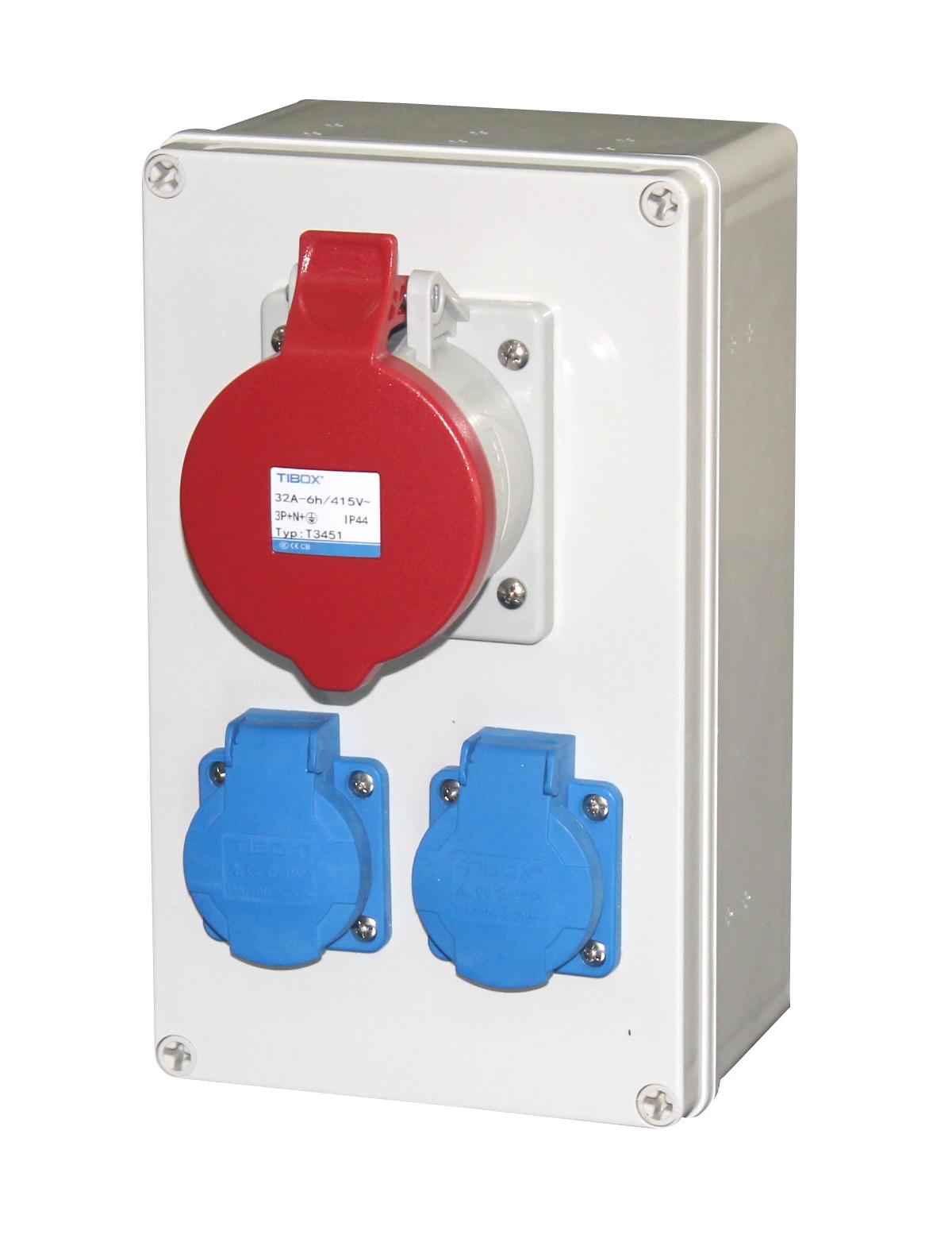 TIBOX工业插头插座防护等级是多少?