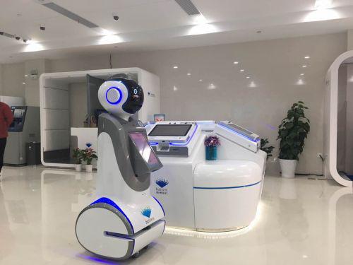 华北工控嵌入式主板保障服务机器人全面打造智慧银行