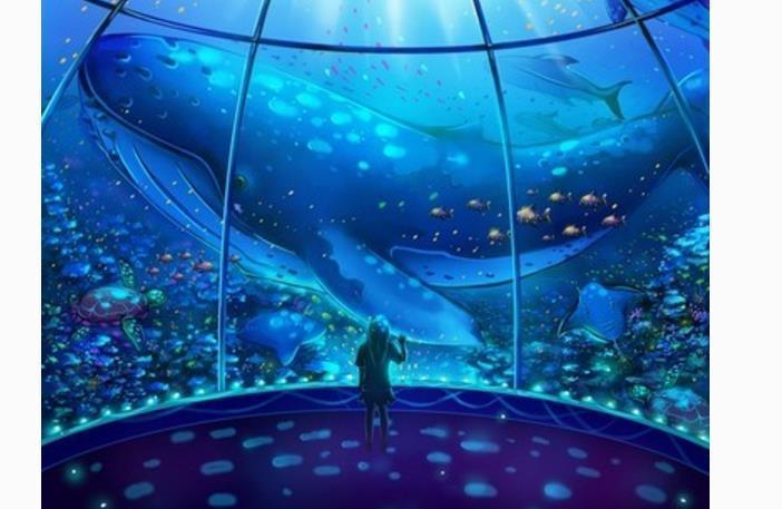 """震撼!首座国家级海洋博物馆将完工,堪称""""海洋上的故宫"""""""
