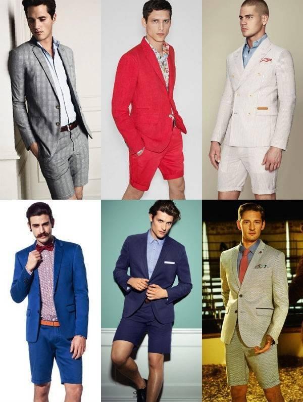 夏季男装流行之合身型短裤最时尚穿搭法