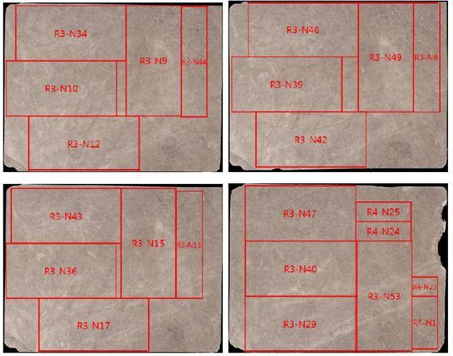 下面是设计方提供的cad图纸: 可以看出,这个交付方案,已超出传统石材