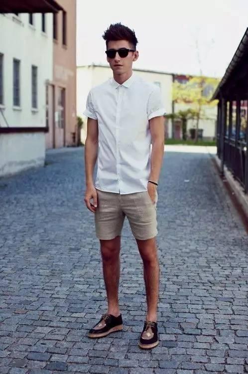 男士白T恤,清爽劲无与伦比!