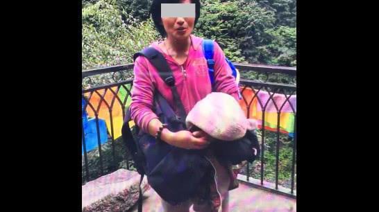 为躲避尘世困扰,单亲妈妈带5岁儿子终南山修行