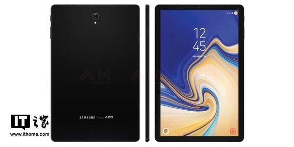 爆料大神曝光三星Galaxy Tab S4外观