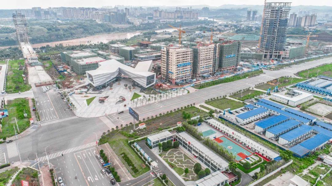 广安体育中心平面图