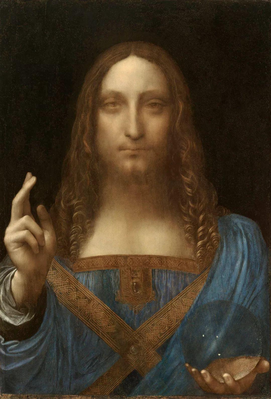 4亿美元的达芬奇名画,居然是一场大乌龙图片