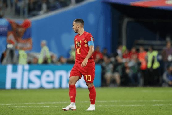 比利时无缘决赛杨坤安慰阿扎尔,球迷:中国阿扎尔捧场比利时杨坤
