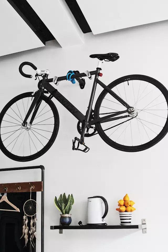 自行车 手绘 立面