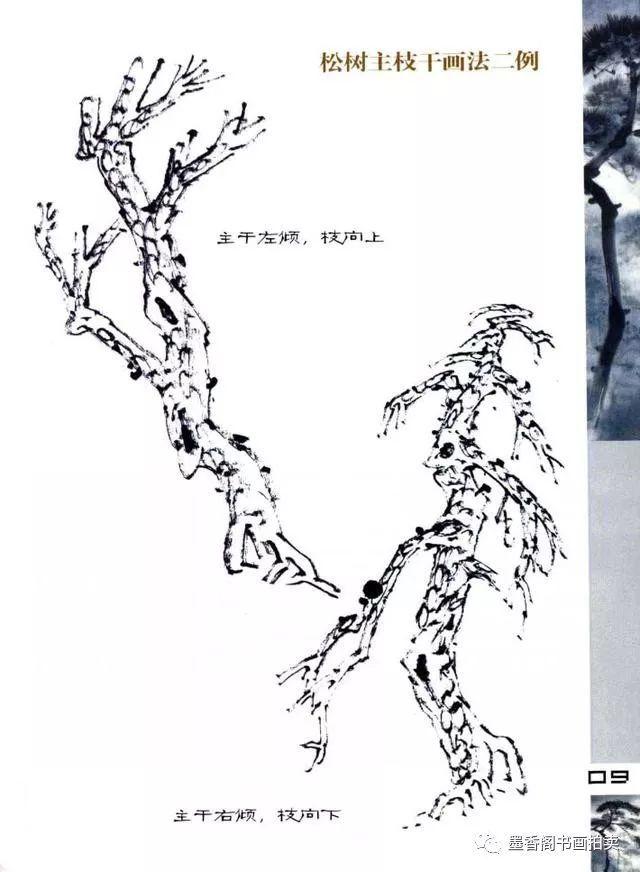 国画 简笔画 手绘 线稿 640_872 竖版 竖屏