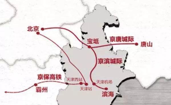 津承高铁玉田规划图