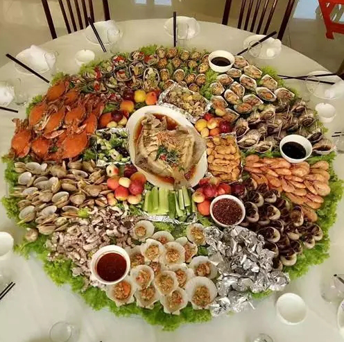 珍稀海鲜宴,寻常百姓家