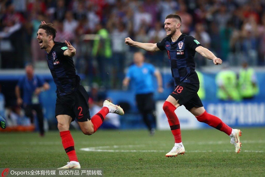 组图:前南足球复兴!克罗地亚重生剑指大力神杯