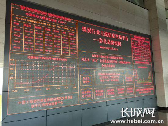 河北港口集團秦皇島海運煤炭交易市場發布——環渤海動力煤價格指數已連續六周持平