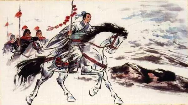 班超一使西域,率30人夜攻北匈奴,胆识过人