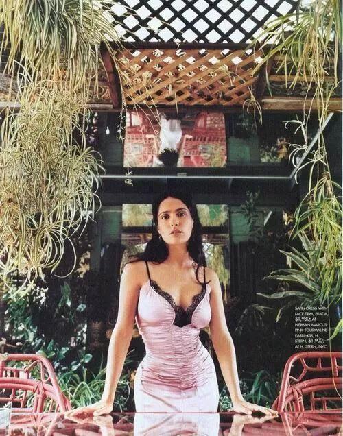 Gucci老板娘 萨尔玛·海耶克 人物 热图1