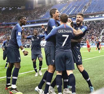 时隔12年 法国再进决赛