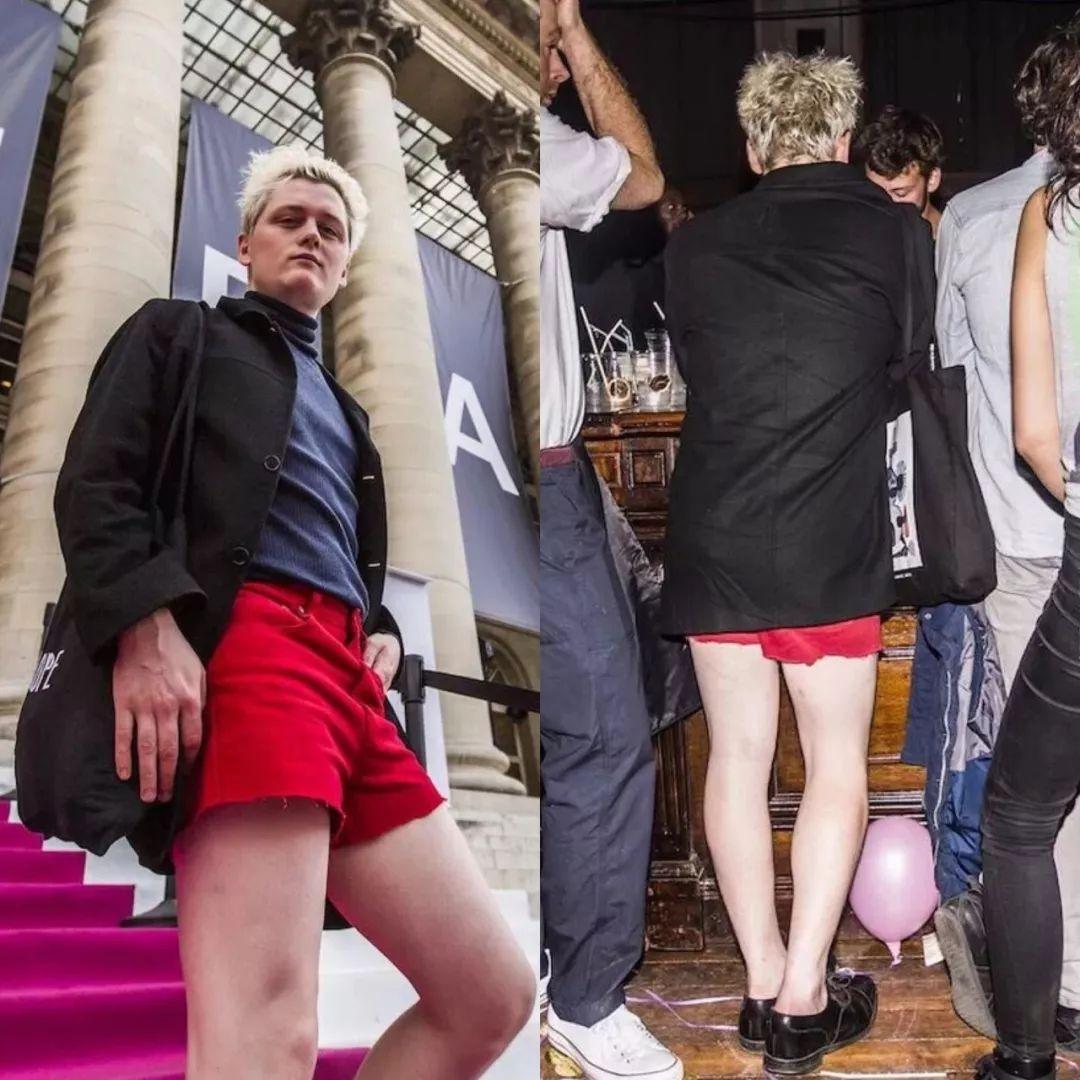 """这个做""""网络水军""""的宅男,竟然混进了巴黎时装周的大秀"""