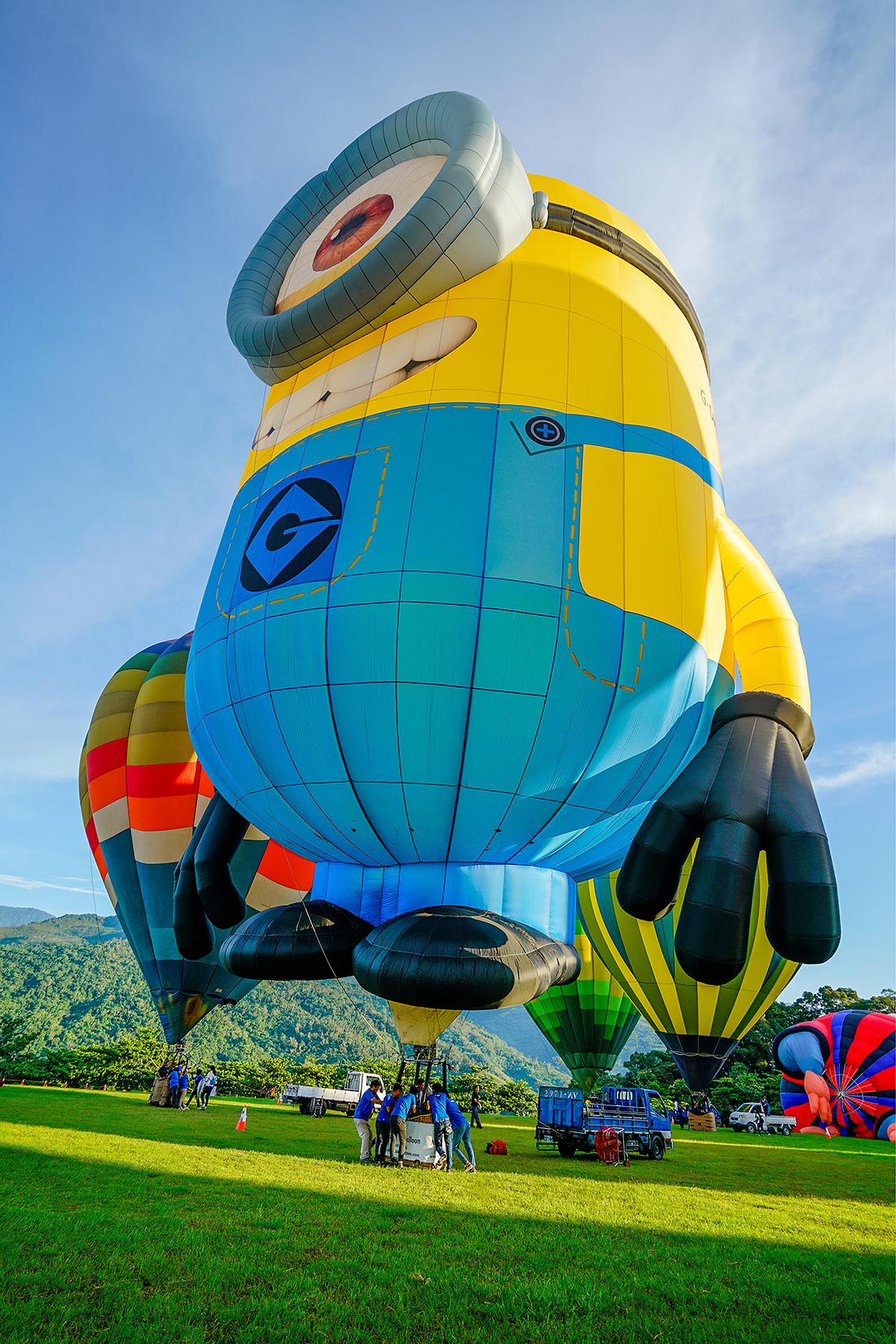 在热气球节,热气球4种玩法一次玩嗨,请羡慕吧
