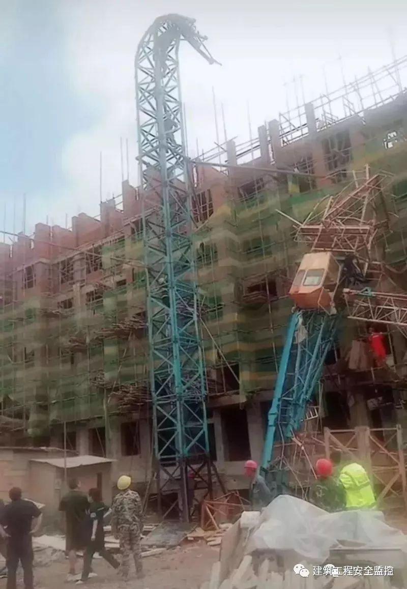 突发 黑龙江一在建工地塔吊发生倒塌事故,2死4伤 如何预防塔吊事故频发