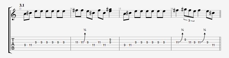 【吉他】布鲁斯/硬摇滚吉他教学连载(1)blues scales_